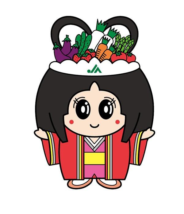 JA足利公式イメージキャラクター「美人ちゃん」