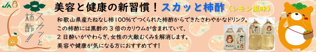 スカッと柿酢